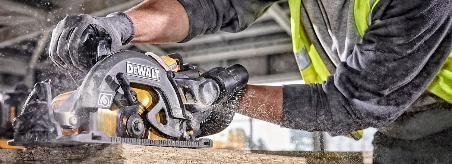 54V XR FLEXVOLT 190mm High Torque Circular Saw